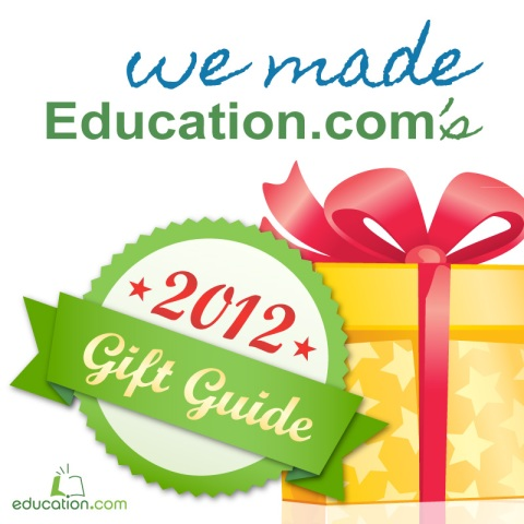 Education.com 2012 Gift Guide Badge