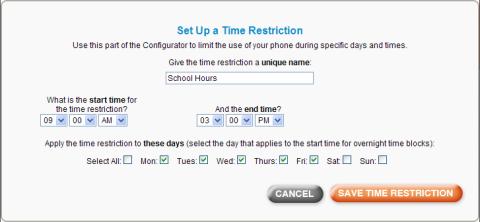 time-restriction