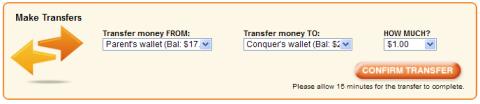 wallet transfer
